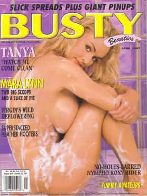 Hustler's Busty Beauties - April 1997