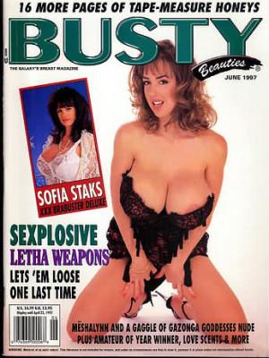 Hustler's Busty Beauties - June 1997
