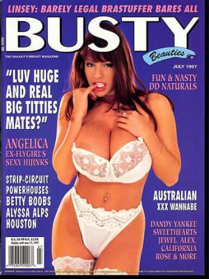 Hustler's Busty Beauties - July 1997