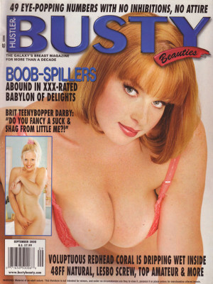 Hustler's Busty Beauties - September 2000
