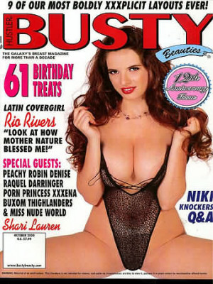 Hustler's Busty Beauties - October 2000