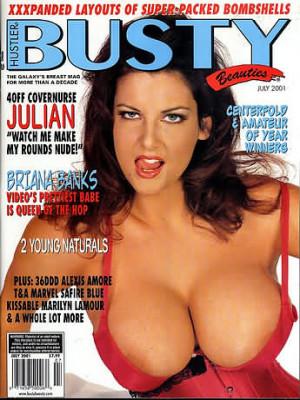 Hustler's Busty Beauties - July 2001