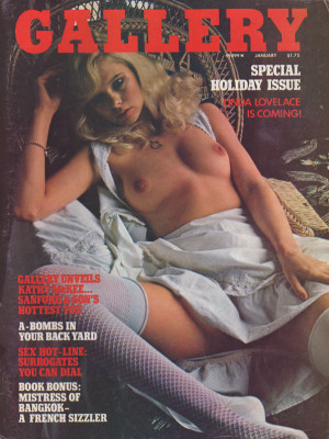 Gallery Magazine - January 1975