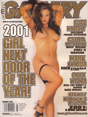 Gallery Magazine - January 2001