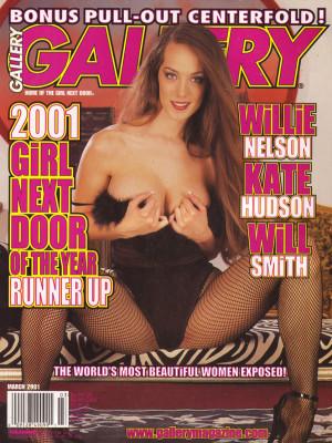 Gallery Magazine - March 2001