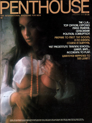 Penthouse Magazine - January 1975