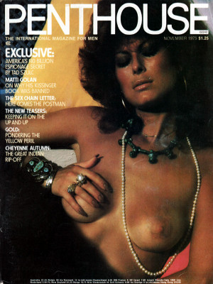 Penthouse Magazine - November 1975