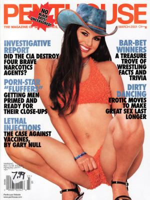 Penthouse Magazine - March 2001