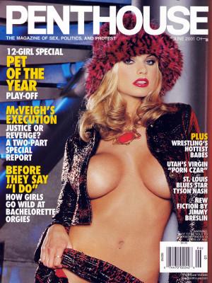 Penthouse Magazine - June 2001