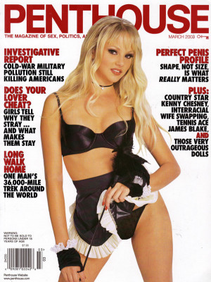 Penthouse Magazine - March 2003