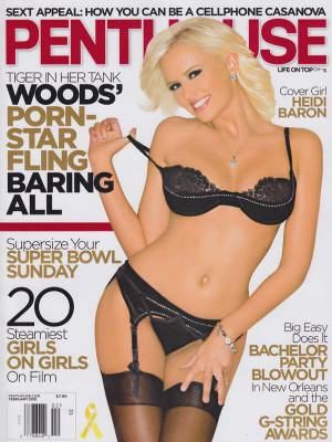 Penthouse Magazine - February 2010