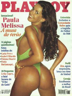 Playboy Brazil - Jan 1997