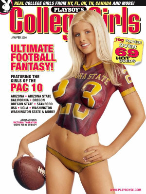 Playboy College Girls - College Girls January/February 2006