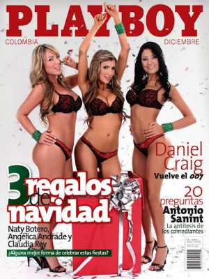 Playboy Colombia - Dec 2008