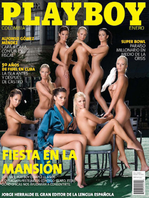 Playboy Colombia - Jan 2009