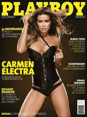 Playboy Colombia - Mar 2009