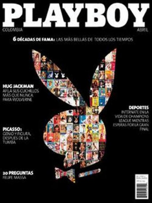 Playboy Colombia - Apr 2009
