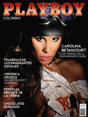 Playboy Colombia - Aug 2010
