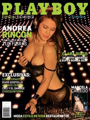 Playboy Colombia - Feb 2012