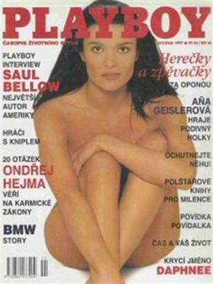 Playboy Czech Republic - Playboy (Czech) Nov 1997