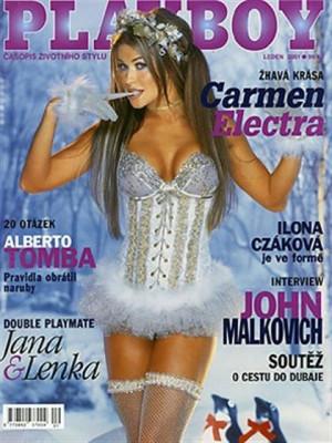 Playboy Czech Republic - Playboy (Czech) Jan 2001