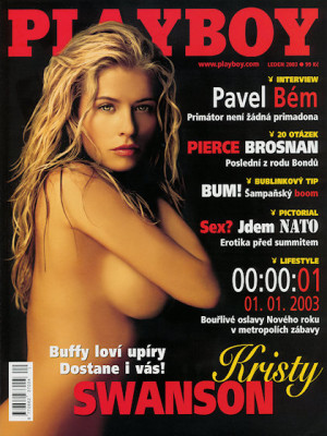 Playboy Czech Republic - Playboy (Czech) Jan 2003