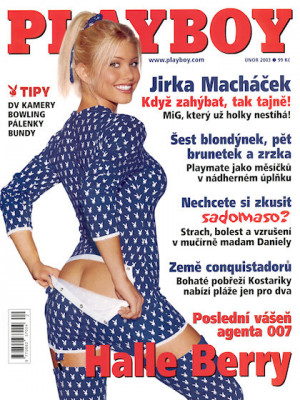 Playboy Czech Republic - Playboy (Czech) Feb 2003