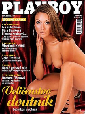 Playboy Czech Republic - Playboy (Czech) Aug 2003