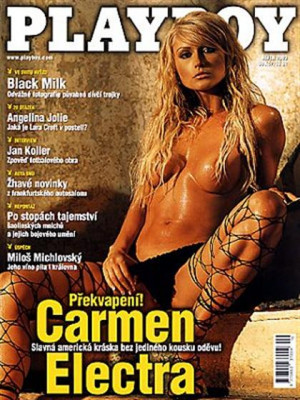 Playboy Czech Republic - Playboy (Czech) Oct 2003