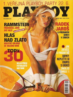 Playboy Czech Republic - Playboy (Czech) Jun 2006