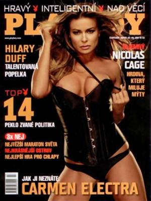 Playboy Czech Republic - Playboy (Czech) Jul 2009