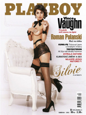 Playboy Czech Republic - Playboy (Czech) Apr 2015