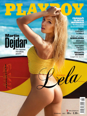 Playboy Czech Republic - Playboy (Czech) Jun 2015