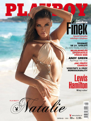Playboy Czech Republic - Playboy (Czech) Aug 2015
