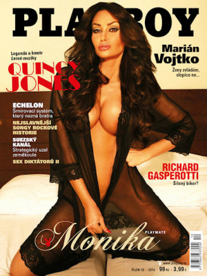 Playboy Czech Republic - Playboy (Czech) Oct 2015