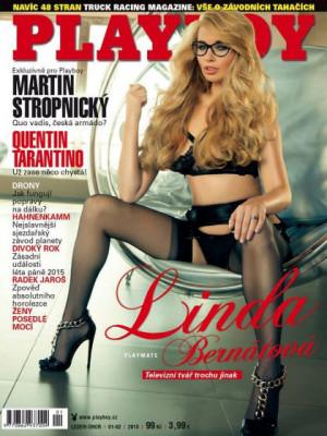 Playboy Czech Republic - Playboy (Czech) Jan 2016