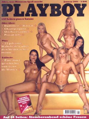 Playboy Germany - January 2001