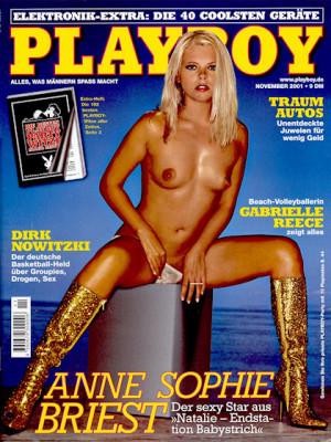 Playboy Germany - Nov 2001