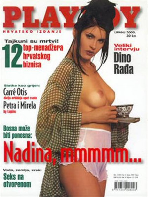 Playboy Croatia - June 2000