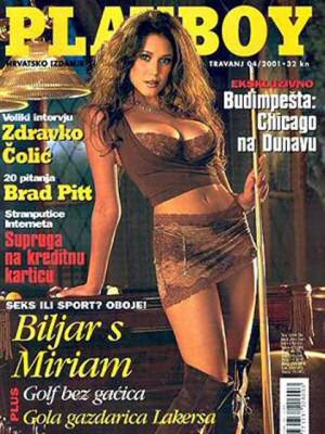Playboy Croatia - April 2001