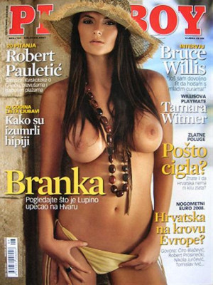 Playboy Croatia - Aug 2007