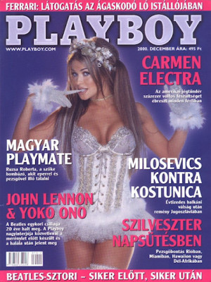 Playboy Hungary - Dec 2000