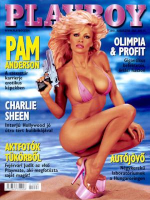 Playboy Hungary - August 2001