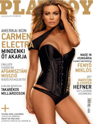 Playboy Hungary - Feb 2009