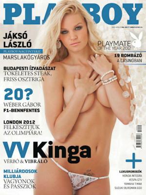 Playboy Hungary - April 2012