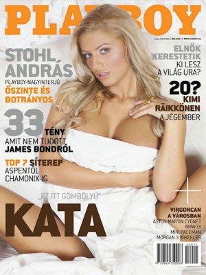 Playboy Hungary - Nov 2012