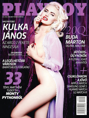 Playboy Hungary - Playboy (Hungary) May 2015