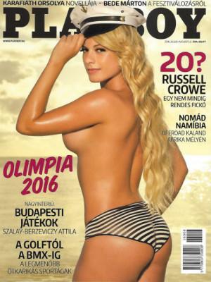 Playboy Hungary - Playboy (Hungary) July 2016