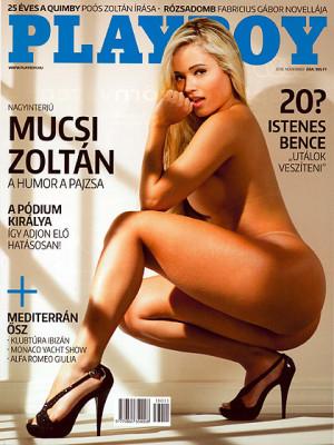 Playboy Hungary - Playboy (Hungary) Nov 2016