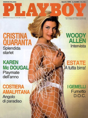 Playboy Italy - August 1998